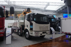 解放 J6L 220马力 6X2 随车吊(CA5220JSQP62K1L7T3E4) 卡车图片