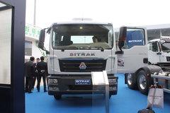 中国重汽 汕德卡SITRAK C5H重卡 340马力 4X2中置轴轿运车(中集牌)(ZJV5181TCLQD)