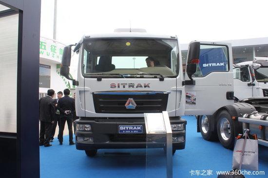 中国重汽 汕德卡SITRAK C5H-M重卡 280马力 4X2 5200轴载货车底盘(ZZ5176XXYM561GE1/M7M756)