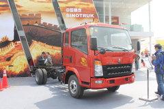 中国重汽HOWO 统帅 129马力 3360轴距排半轻卡底盘(ZZ1047D3414C145) 卡车图片