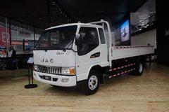 江淮 骏铃W380 141马力 4.8米排半栏板轻卡(原威铃)(HFC1061P71K1C6AV) 卡车图片