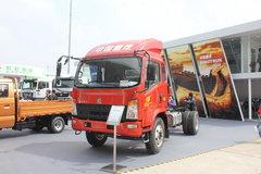 中国重汽HOWO 统帅 168马力 3800轴距轻卡底盘(ZZ1127G3815D1) 卡车图片