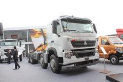 中国重汽 HOWO-T7H重卡 400马力 8X4混凝土搅拌车(底盘)(ZZ1317V326HD1)