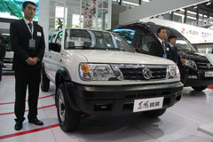 郑州日产 东风锐骐 2.2L 四驱 双排皮卡 卡车图片