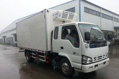 庆铃 600P轻卡 130马力 4X2 排半冷藏车(QL5070XLCHKHR)