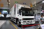庆铃 FVZ重卡 300马力 6X4 9.35米厢式载货车(QL5250XXYWTFZJ)
