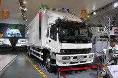 庆铃 FVZ重卡 300马力 6X4 9.35米厢式载货车(QL5250XXYWTFZJ)图片