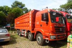 陕汽 德龙M3000 310马力 8X4 7.6米自卸车(SX3315HR366) 卡车图片