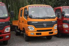 福田 欧马可1系 131马力 3.2米双排栏板轻卡 卡车图片