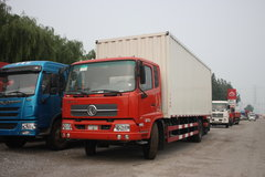东风商用车 天锦中卡 160马力 4X2排半厢式载货车 卡车图片