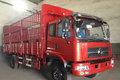 东风南充 龙骏中卡 200马力 4X2 6.74米CNG仓栅式载货车