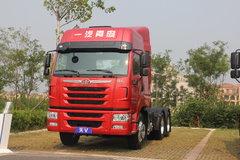 青岛解放 天V重卡 430马力 6X4 LNG牵引车(435后桥)(CA4258P2K15T1NE5A80)图片