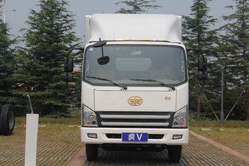 解放 虎V 120马力 4X2 4.21米单排翼开启厢式轻卡(CA5045XYKP40K17L1E5A84)