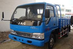 江淮大好运 113马力 3.8米排半栏板轻卡(宽体) 卡车图片