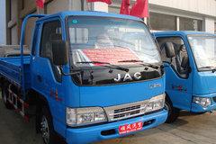 江淮好运 90马力 3.8米排半栏板轻卡 卡车图片