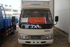 江淮 大好运中卡 140马力 4X2 排半 6.2米厢式载货车(HFC5101XXYP91K1D4)