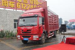 青岛解放 龙V中卡 164马力 4X2 6.8米仓栅式载货车(CA5168CCYPK2L2E4A80-1) 卡车图片