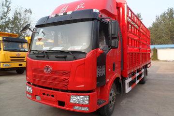 一汽解放 J6L中卡 140马力 4X2 6.8米仓栅式载货车(CA5160CCYP62K1L3E4)