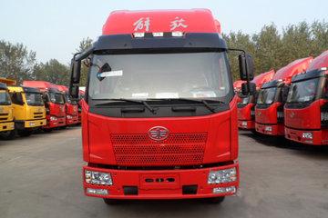 一汽解放 J6L中卡 180马力 4X2 7.6米排半厢式载货车(CA5160XYKP62K1L5A2E4)