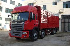 江淮 格尔发K3系列重卡 270马力 8X4 仓栅载货车(HFC5314CCYK1R1LT) 卡车图片