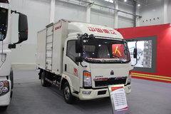 中国重汽HOWO 悍将 109马力 4.2米单排厢式轻卡 卡车图片
