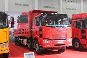 一汽解放 J6P重卡 390马力 8X4 7.6米自卸车底盘(CA3310P66K24L4BT4AE5)