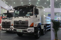 广汽日野 700系列重卡 350马力 8X4 8米自卸车(YC3310FY2PY4) 卡车图片