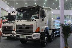 广汽日野 700系列重卡 350马力 8X4 8米自卸车(YC3310FY2PY4)