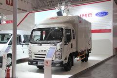 江铃凯锐800 120马力 3.7米排半厢式轻卡(豪华款) 卡车图片