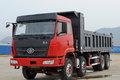 柳特 龙威(L5M)重卡 310马力 8X4 6.5米自卸车(前顶)