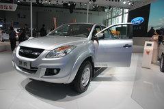 2013款江铃 域虎 2.4L柴油 四驱 双排皮卡(LX) 卡车图片