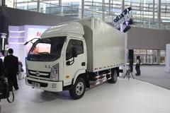 跃进 上骏X300-33 112马力 4.2米单排厢式轻卡(NJ5042XXYDCFT) 卡车图片