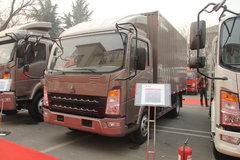 中国重汽HOWO 统帅 141马力 4.2米单排厢式轻卡(ZZ5047XXYF341BD145) 卡车图片
