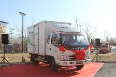 福田 奥铃捷运 116马力 CNG 3.735米排半厢式轻卡(BJ5049XXY-EC) 卡车图片