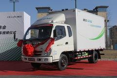 福田 奥铃 捷运 95马力 3.7米排半厢式轻卡(蓝牌)(BJ5049V8CEA-6)