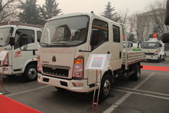 中国重汽HOWO 悍将 110马力 3.2米双排栏板轻卡(ZZ1047D3413D542) 卡车图片