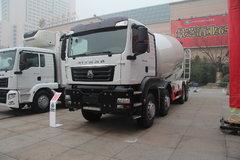 中国重汽 SITRAK C7H重卡 400马力 8X4 混凝土搅拌车(ZZ5316GJBV366MD1)