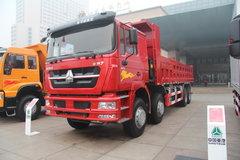 中国重汽 HOKA H7系重卡 380马力 8X4 8.3米LNG自卸车(ZZ3313N4661E1L) 卡车图片
