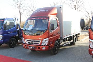 福田 奥铃CTX 143马力 4.165米单排厢式轻卡(BJ5089XXY-F6)