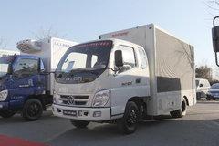 福田 奥铃CTX 131马力 3.7米排半厢式轻卡(宣传车)(BJ5049XXC-FC) 卡车图片