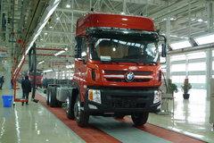 重汽王牌 重卡 280马力 8X4 9.4米载货车底盘(代号012)(CDW1310A1T4) 卡车图片