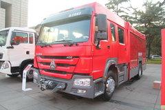 中国重汽 HOWO 360马力 4X2 消防车 卡车图片