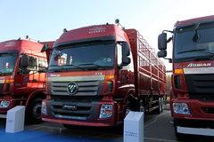 福田 欧曼ETX 6系重卡 310马力 8X4 9.5米仓栅载货车(BJ5313CCY-XC) 卡车图片