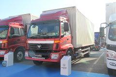 福田 欧马可5系中卡 高效版 170马力 4X2 6.75米排半厢式载货车(BJ5169XXY-F2) 卡车图片