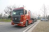 联合卡车U400 400马力 6X4 化工液体运输车(中集牌)(SDY9401GDYT)