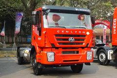 上汽红岩 杰狮重卡 280马力 4X2 LNG牵引车(CQ4186HMG381TC)