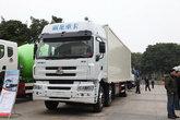 东风柳汽 乘龙M5重卡 245马力 6X2 9.6米排半厢式载货车(LZ5250XXYM5CA)