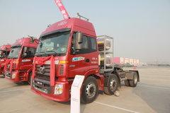 福田 欧曼ETX 6系重卡 350马力 6X2 LNG牵引车(BJ4253SNFCB-AA) 卡车图片