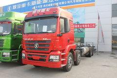 陕汽重卡 德龙M3000 336马力 8X4 9.5米仓栅式载货车(LNG)(SX5316CCYGR456TL) 卡车图片