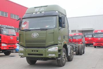 一汽解放 J6P重卡 370马力 8X4 8.8米自卸车底盘(CA3310P66K24L6BT)